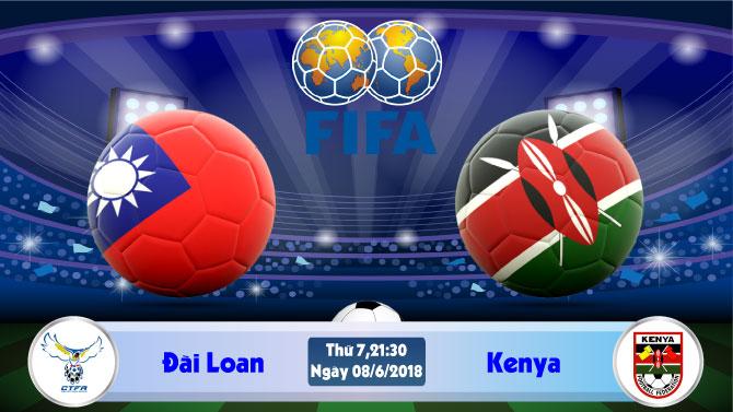 Soi kèo bóng đá Đài Loan vs Kenya 21h30, ngày 8/6 Giao Hữu Quốc Tế 2018