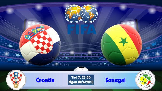 Soi kèo bóng đá Croatia vs Senegal 23h00, ngày 8/6 Giao Hữu Quốc Tế 2018