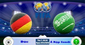Soi kèo bóng đá Đức vs Ả Rập Saudi 00h30, ngày 9/6 Giao Hữu Quốc Tế 2018