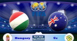 Soi kèo bóng đá Hungary vs Úc 22h30, ngày 9/6 Giao Hữu Quốc Tế 2018