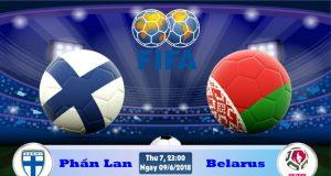 Soi kèo bóng đá Phần Lan vs Belarus 23h00, ngày 9/6 Giao Hữu Quốc Tế 2018