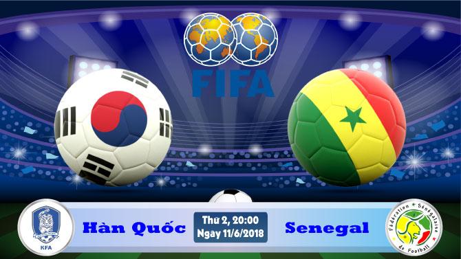 Soi kèo World Cup Hàn Quốc vs Senegal
