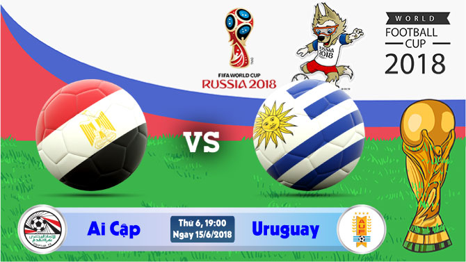 Soi kèo World Cup Ai Cập vs Uruguay