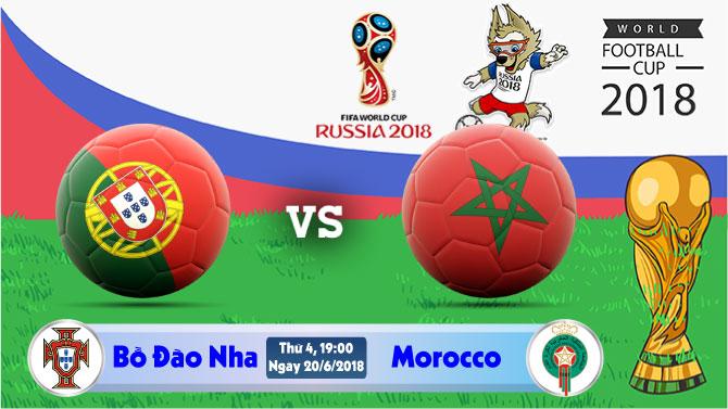 Soi kèo World Cup Bồ Đào Nha vs Morocco 19h00, ngày 20/6: Chiến Thắng Gần Kề