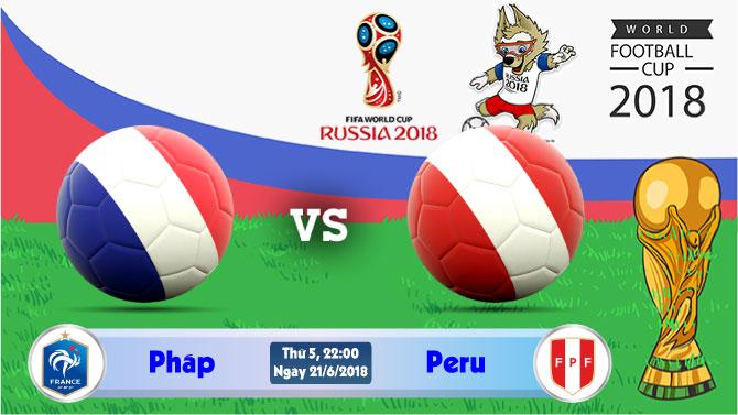 Soi kèo World Cup Pháp vs Peru 22h00, ngày 21/6: Canh tranh ngôi đầu bảng