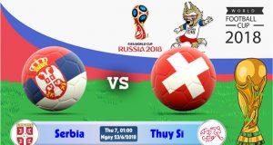 Soi kèo World Cup Serbia vs Thụy Sĩ 01h00, ngày 23/6: Bước tiếp từ sớm