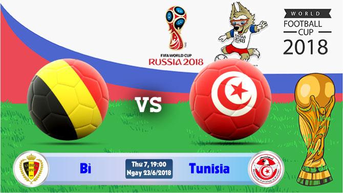 Soi kèo World Cup Bỉ vs Tunisia 19h00, ngày 23/6: Trận đấu bản lề