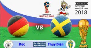 Soi kèo World Cup Đức vs Thụy Điển 01h00, ngày 24/6: Cuộc chiến ngôi đầu