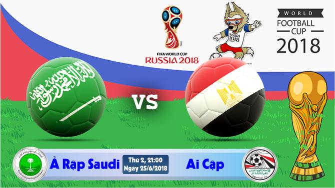 Soi kèo World Cup Ả Rập Saudi vs Ai Cập 21h00, ngày 25/6: Kết Thúc