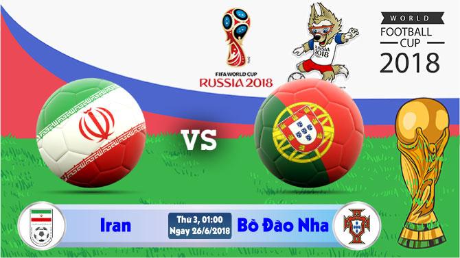 Soi kèo World Cup Iran vs Bồ Đào Nha 01h00, ngày 26/6: Cơ hội cuối cùng