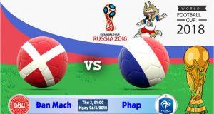Soi kèo World Cup Đan Mạch vs Pháp 21h00, ngày 26/6: Khẳng định ngôi đầu