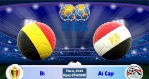 Soi kèo bóng đá Bỉ vs Ai Cập 01h45, ngày 7/6 Giao Hữu Quốc Tế 2018