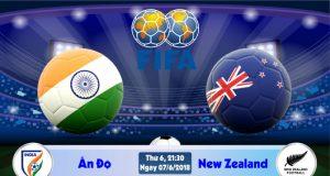 Soi kèo bóng đá Ấn Độ vs New Zealand 21h30, ngày 7/6 Giao Hữu Quốc Tế 2018