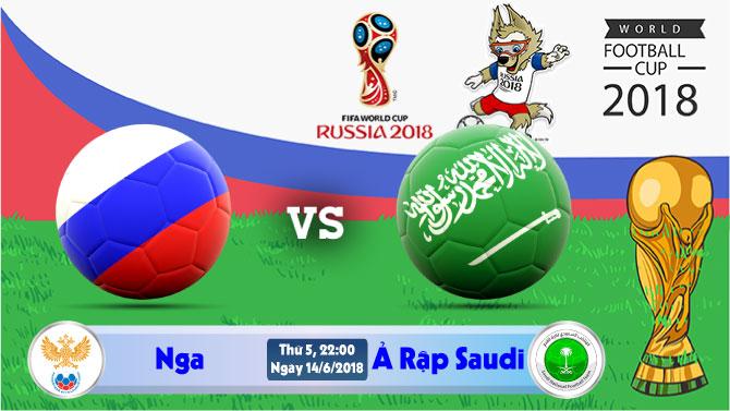 Soi kèo World Cup Nga vs Ả Rập Saudi